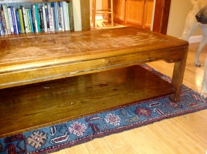 Reveal! Coffee Table to Ottoman