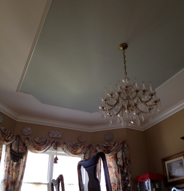 Dining Room Ceiling.
