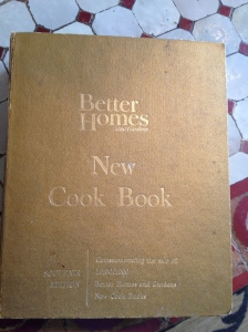 Better Homes and Gardens Cookbook.