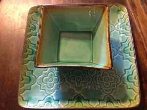 Turquoise Dishes.