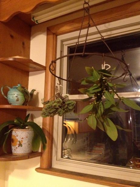 Herb-drying rack.