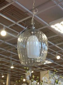 Light fixture, in the store.