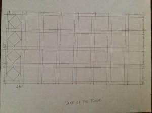 Map of the floor.