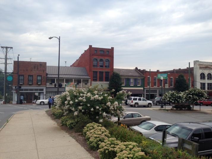 Downtown Lynchburg, Virginia.