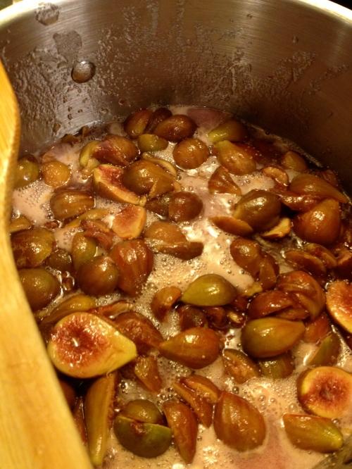 Fig-Brandy Jam