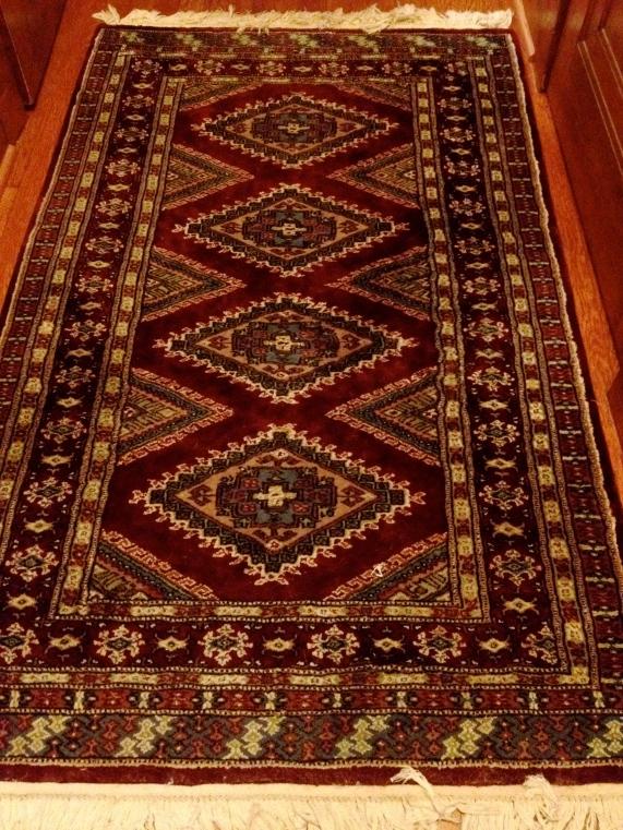 A masculine rug.