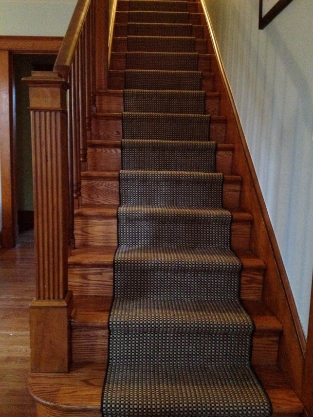The new stair runner!