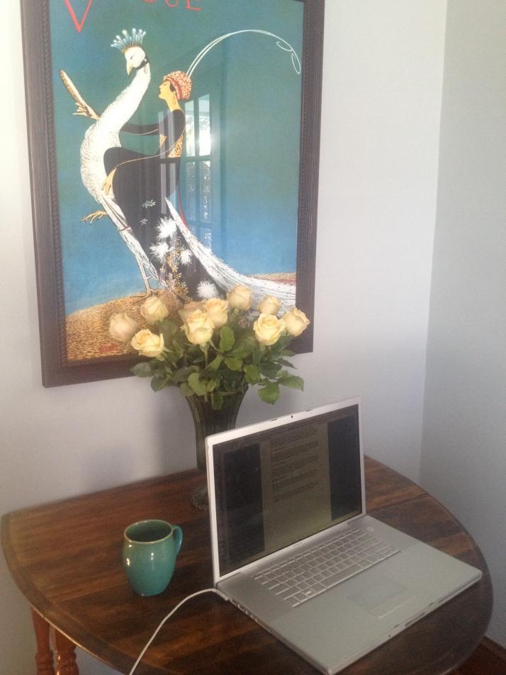 My workspace.