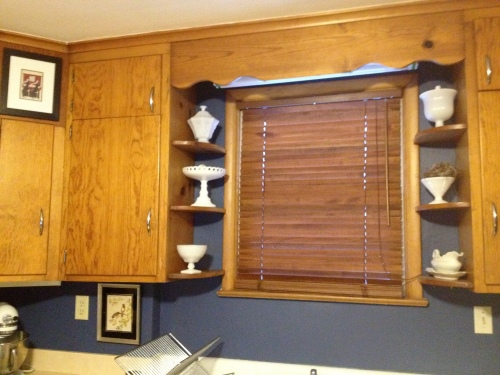 Ikea kitchen blind.