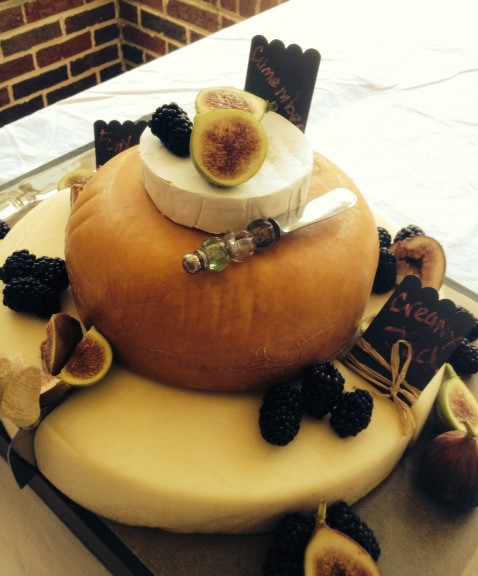 A Cake Made of Cheese