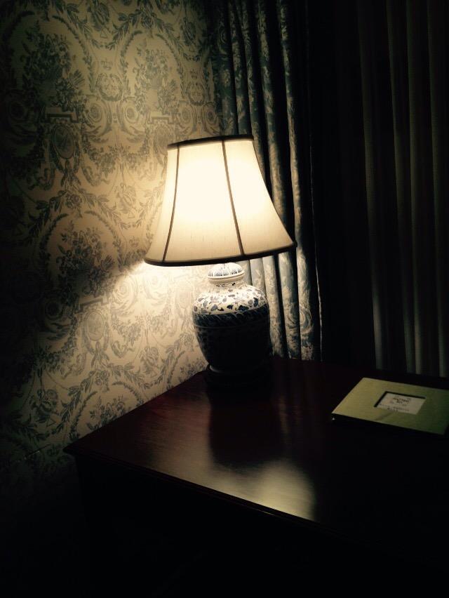 The writer's desk.